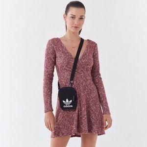 UO Coraline Cozy Wrap Dress XS NEW